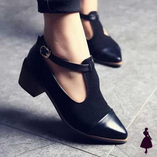 Zapato Bajo Negro