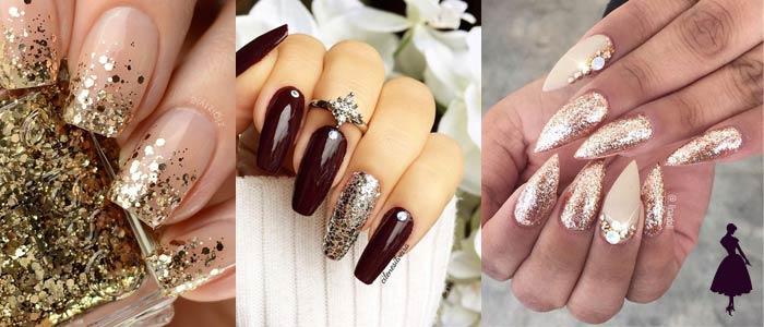 Cómo remover el glitter de las uñas