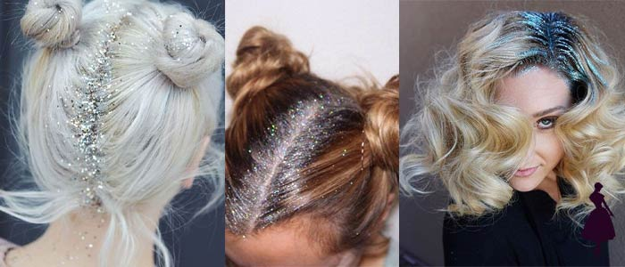 Cómo remover el glitter del cabello