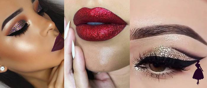 Cómo remover el glitter del rostro