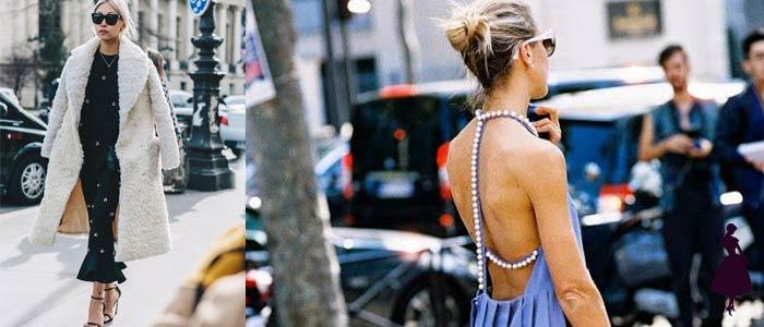 Cómo usar perlas vestidos