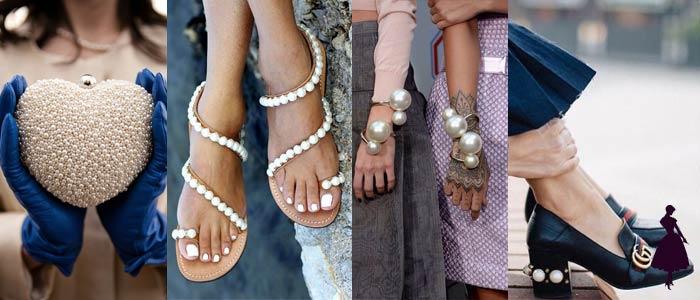 Cómo usar perlas accesorios