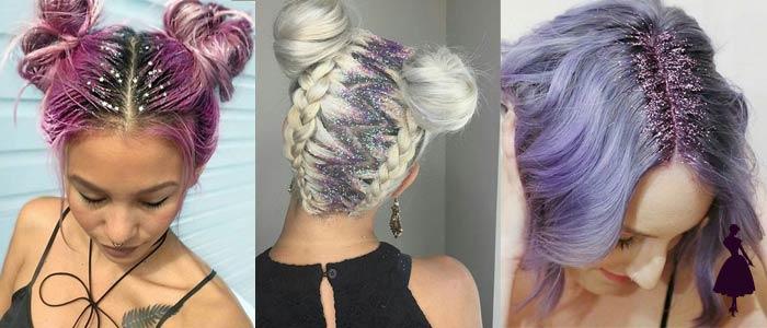 Glitter Roots Colores Fantasía