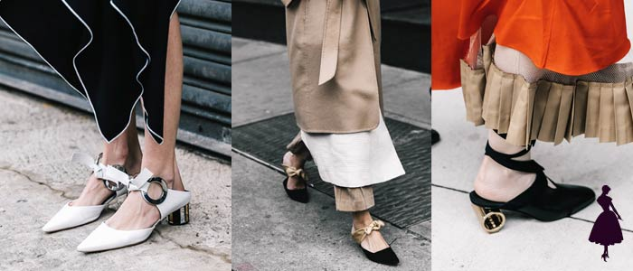 Zapatos Mule Jane Street Style