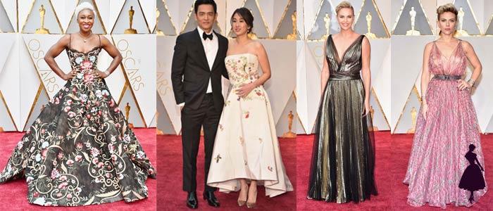 Vestidos de los Oscar 2017 Flores