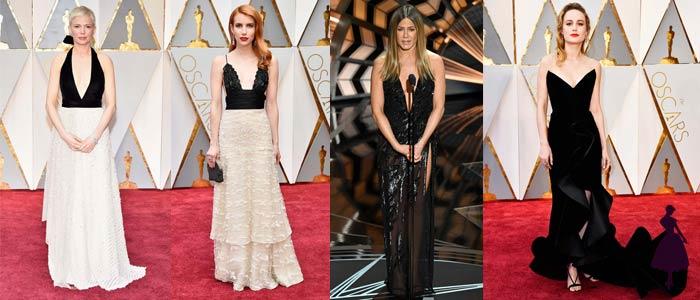 Vestidos de los Oscar 2017 Negro