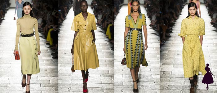 Color amarillo en Bottega Veneta