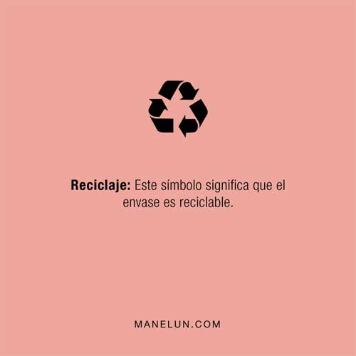 Qué significan los símbolos en los envases reciclaje