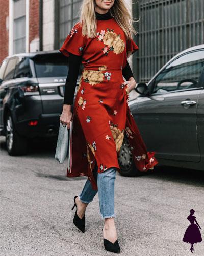 Street Style de Milan vestido con pantalones