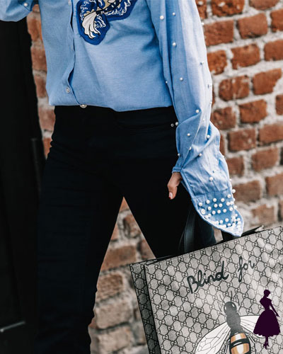 Street Style de Milan perlas