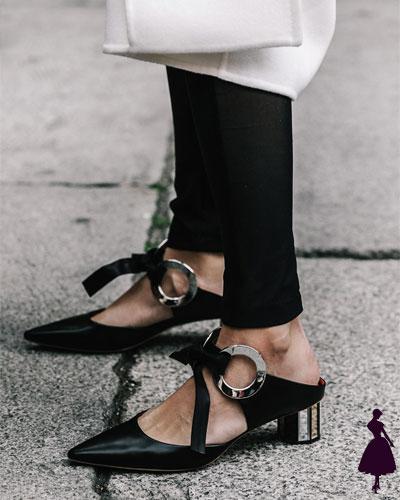 Street Style de Milan Mule Jane