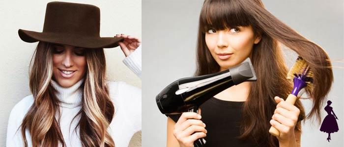 Cómo cuidar el cabello en invierno tips