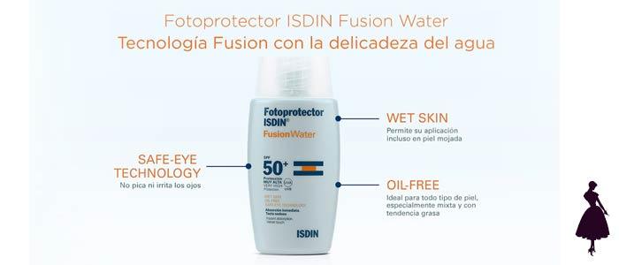Fusion Water de Isdin características