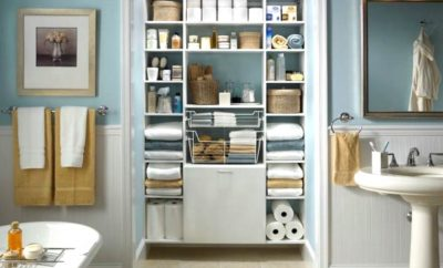 Organizar tu baño