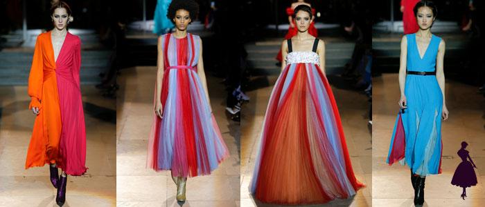Colección de Carolina Herrera colores mezclados