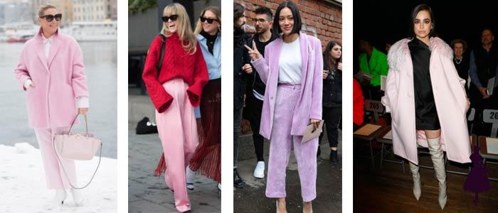 Colores de moda en 2018 Pink Millenial