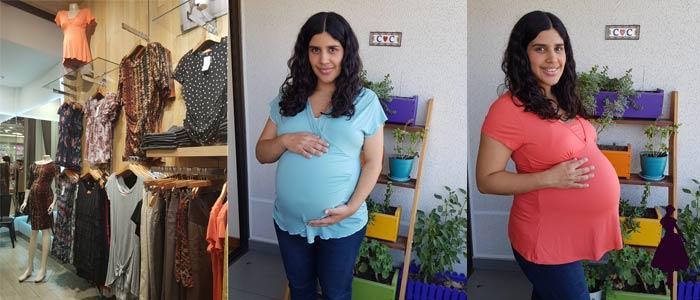Mae Maternity Poleras Ropa de Maternidad