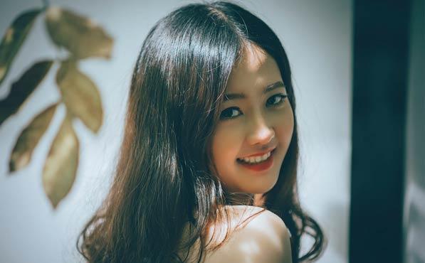 Mujeres asiáticas cutis perfecto