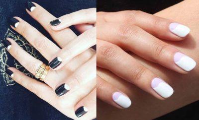 Diseños de uñas media luna presentacion