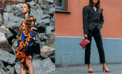 Los polka dots en la ropa