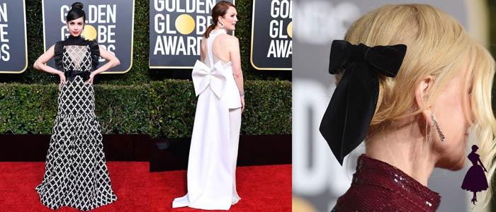 Los Vestidos de los Globos de Oro 2019 Lazos