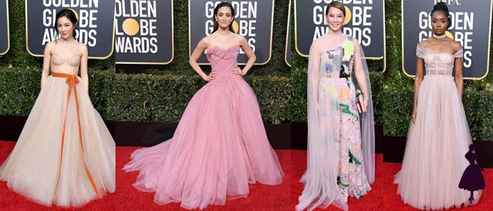 Los Vestidos de los Globos de Oro 2019 Tul