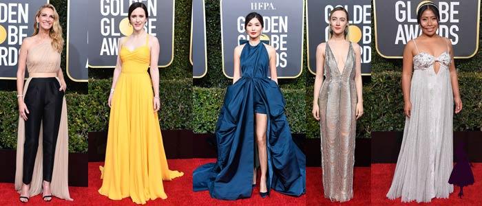 vestidos de los Globos de Oro 2019 Varios