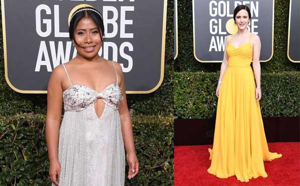 Los Vestidos De Los Globos De Oro 2019 Mira Las Tendencias