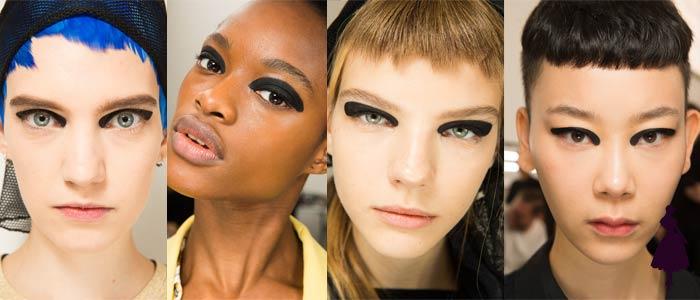 Maquillaje de ojos para 2019 Dries Van Noten