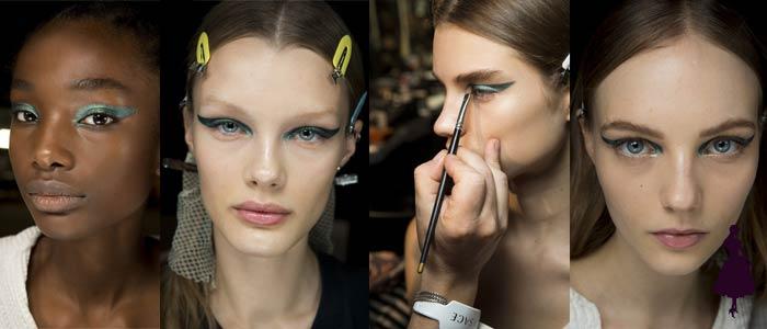 Maquillaje de ojos para 2019 Versace