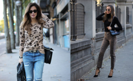 Looks con print de leopardo