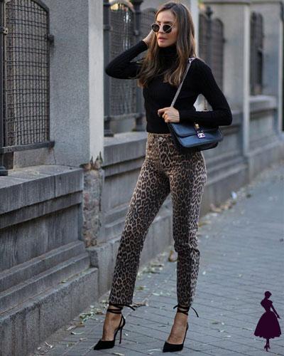 Print de leopardo