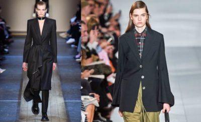 Corte masculino en la ropa femenina