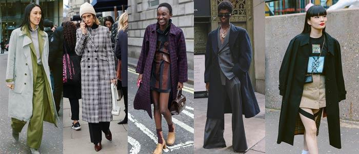Tendencias de moda 2019 Abrigo XL