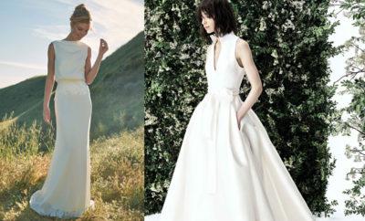 Vestido de novia delicado