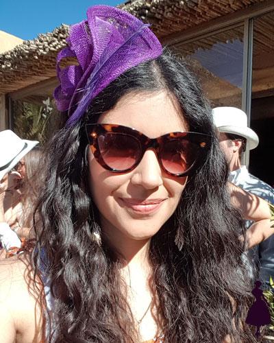 Tocados para invitada a una boda Alejandra Vila