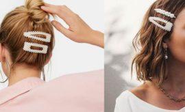 Clips en el cabello