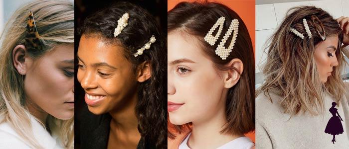 Horquillas en el cabello otros
