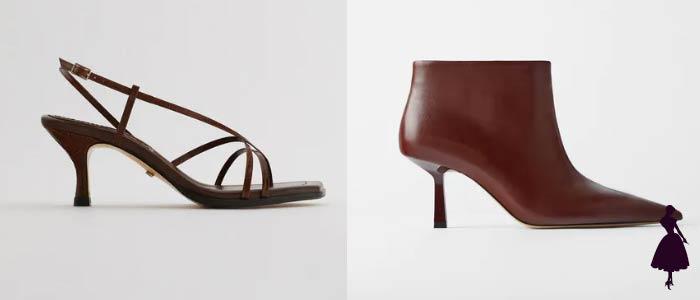 sandalias y botines