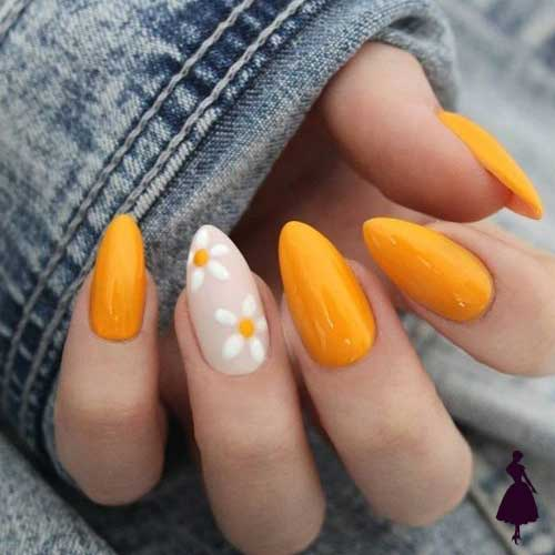 Diseños de uñas florales