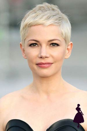 Michelle Williams de pelo corto