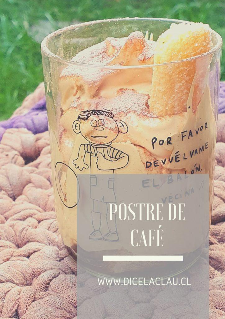 Delicioso postre de café