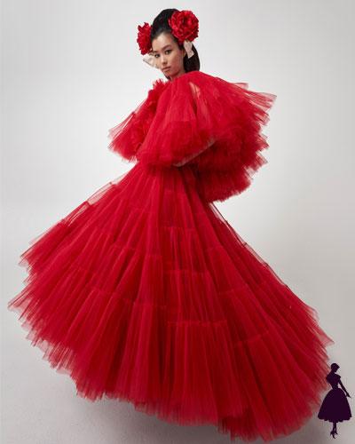 Inspiración flamenca Giambattista Valli